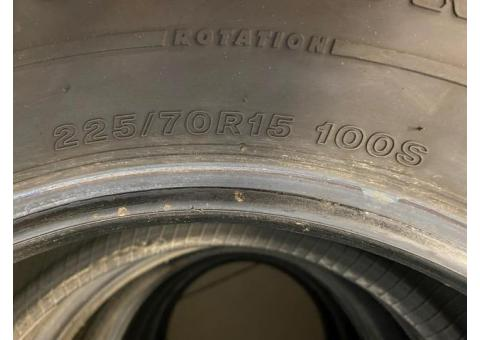 Firestone mud and snow tires